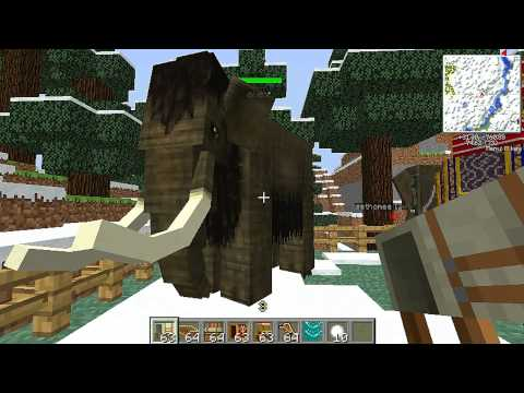 como domesticar elefantes y mamuts en minecraft con mo creatures