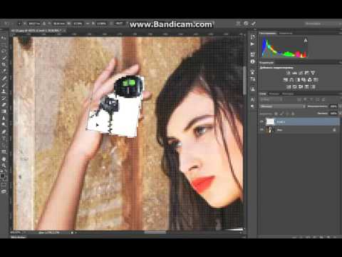 Как сделать трансформацию в фотошопе