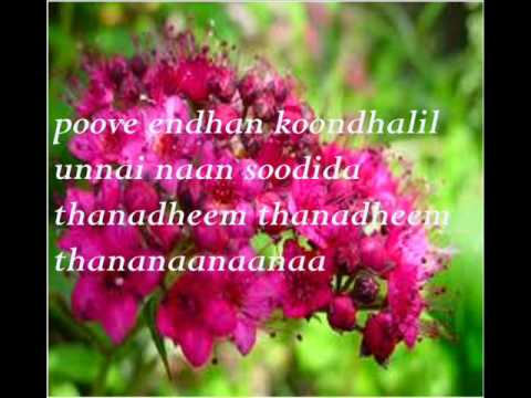 Poove Poove (poovellaam Kettuppaar)lyrics video
