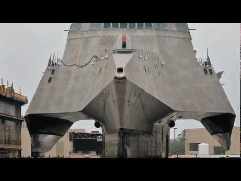 Berard - The Mega Transport Experts - Austal LCS Coronado Loadout (1-9-12).wmv