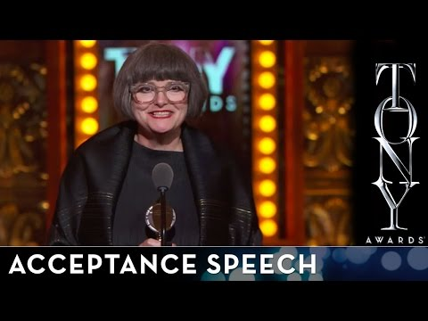 2014 Tony Awards: Acceptance Speech - Jenny Tiramani