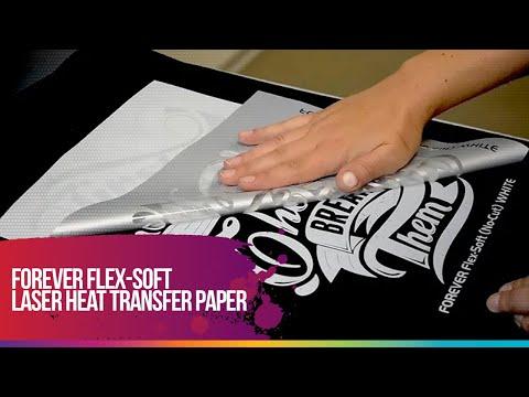 FOREVER Flex-Soft (No-Cut) laser heat transfer paper