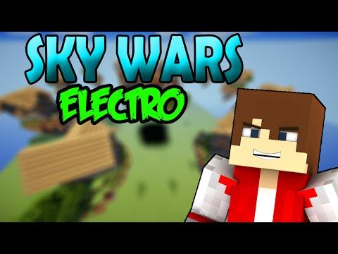 SKY WARS ELECTRO¡¡ | ELECTRO GAMEPLAY | MINECRAFT | MGamer