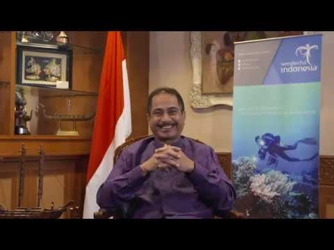 Tourism Minister of Indonesia : Wonderful Indonesia