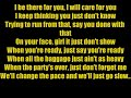 Drake Take Care LYRICS ft Rihanna HD