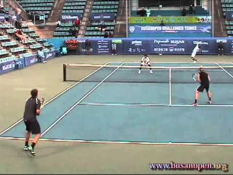 120511_2012BUSANOPEN DOUBLES Semi-Finals 1set