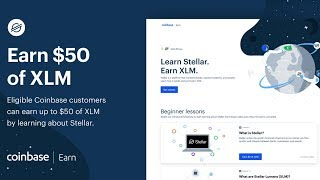 How to Earn $50 FREE Stellar (XLM) on Coinbase and Blockchain.com!