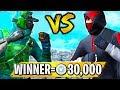 Fresh vs Muselk! WINNER Gets 30,000 V-bucks!