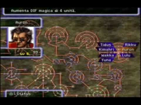 Final Fantasy X FFX - Sphere Grid cleared and remade - Max