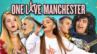Download Lagu ADULTS REACT TO ONE LOVE MANCHESTER CONCERT Gratis STAFABAND