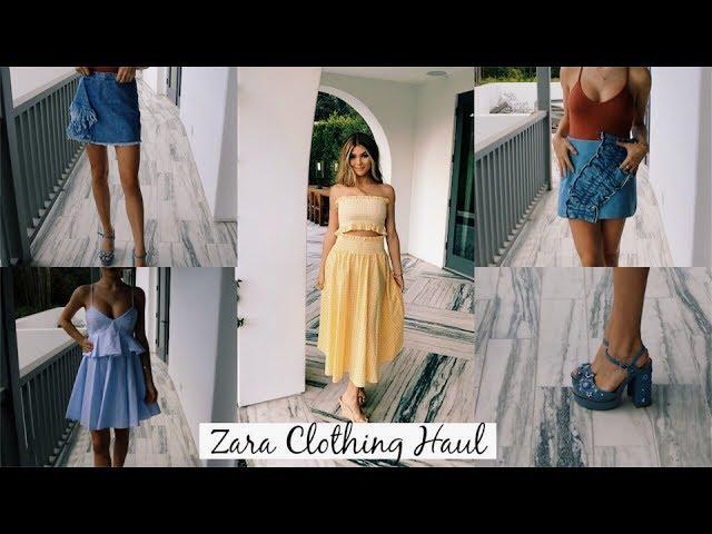 Zara Clothing Haul (Try-On) l Olivia Jade