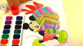 Disney Mickey Mouse Coloring Drawing Mickey Mouse para Colorear
