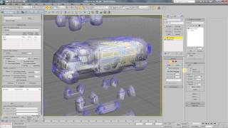 3ds max tutorial (russian lang.). Baking normal map and ambient occlusion.