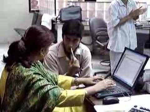 Ms Geeta Sharma Visit Gulshan Town Complaint Center