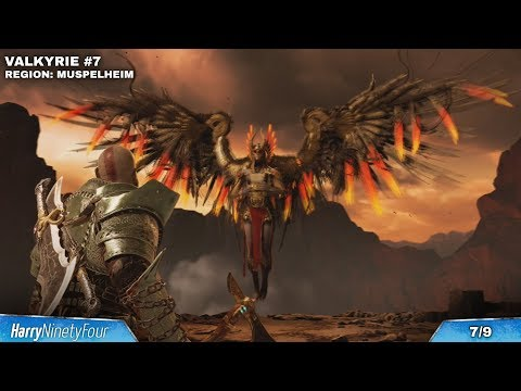 God of War - All Valkyrie Locations Guide (Chooser of the Slain Trophy Walkthrough)