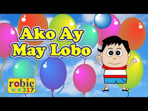 Ako ay may lobo animated (Awiting Pambata)
