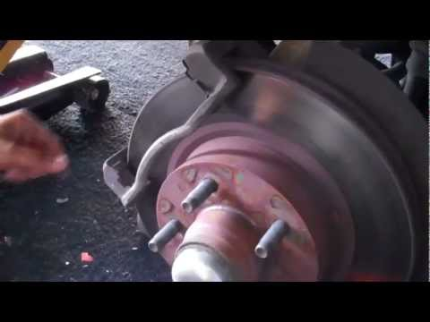 Changing the Brake pads on a 2006 2wd Ford Ranger