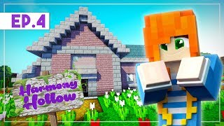 My New House! | Minecraft: Harmony Hollow SMP - S3 Ep.04 | Marielitai Gaming