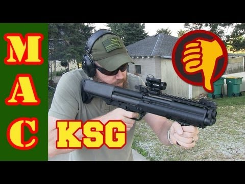 Kel-Tec KSG - Painful First Shots
