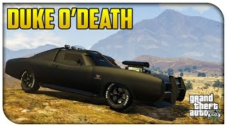 GTA 5 Xbox One / PS4 - Duke O'Death First Person Gameplay & How to Unlock! (Rare Spawn Location)