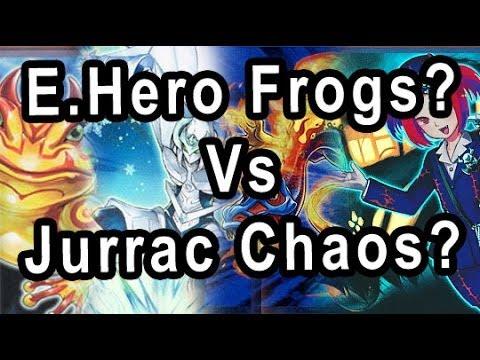 Frog Eheros? vs Jurrac Chaos Anti Meta? Vs (DUEL VS PINK REAPER old decks)
