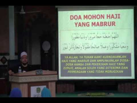 Video doa haji mabrur