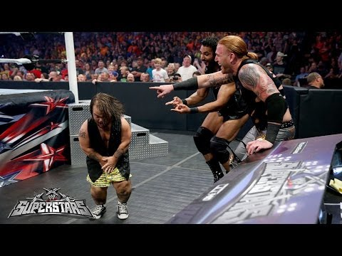 Sin Cara Vs. Drew Mcintyre: Wwe Superstars, May 15, 2014 video