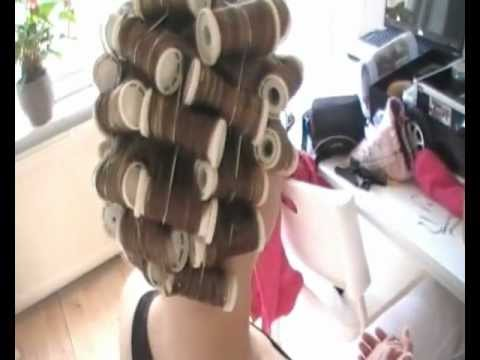 Bruidskapsel en make-up door Bruid en Beauty Almere.wmv