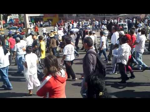 video de la marcha x la paz Cuautitlan Izcalli