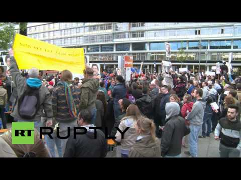 Germany: Merkel heckled over Ukraine at CDU campaign event