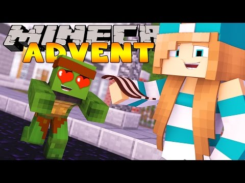 Minecraft Adventure - TINY TURTLE MEETS HIS NEW NEIGHBOUR LILY