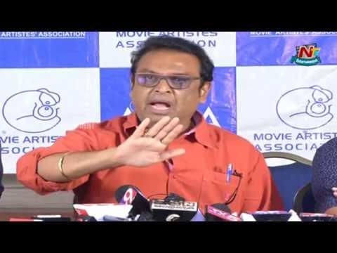 Actor Naresh Counter Press Meet Full Video | MAA Association Press Meet | NTV Entertainment