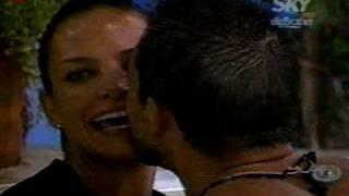 Sergio y Fabiola en el jacuzzi Big Brother vip Mexico