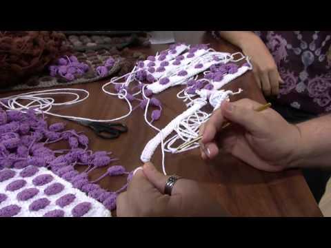 Mulher.com 06/06/2013 Marcelo Nunes - Crochê tapete bolinha Parte 1