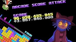 [NullpoMino Mod] Arcade Score Attack mode demonstration (WIP)