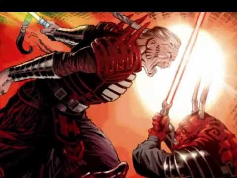 Darth Krayt vs Darth Bane Skywalker And Darth Krayt