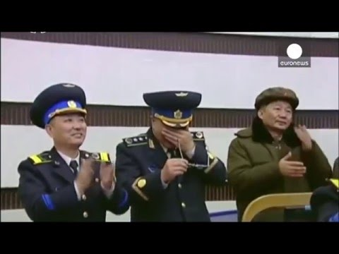 Raw footage: N.Korea military cry as test missile launches