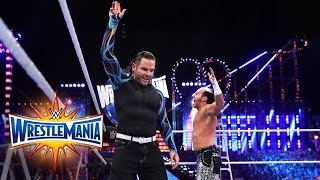 Matt Jeff Hardy Make A Shocking Return To Wwe Wrestlemania 33 Wwe Network Exclusive
