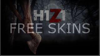 HOW TO GET FREE SKINS IN H1Z1(FREE SKINS H1Z1)(CODE-1$)