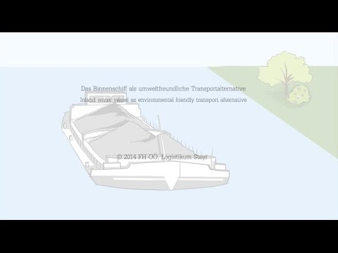 Inland water vessel as envirnomental friendly transport alternative