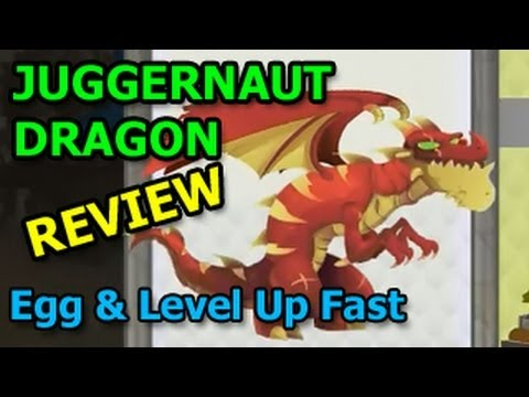 JUGGERNAUT DRAGON Dragon City Egg and Level Up Fast Review