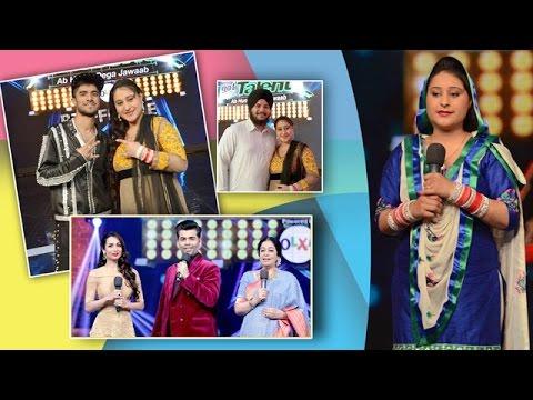 Harmanpreet Kaur Artist of India's Got Talent-6 on Ajit Web Tv.