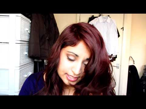How I dye my hair red with L'Oreal Magenta and Punky Colour Vermillion ...