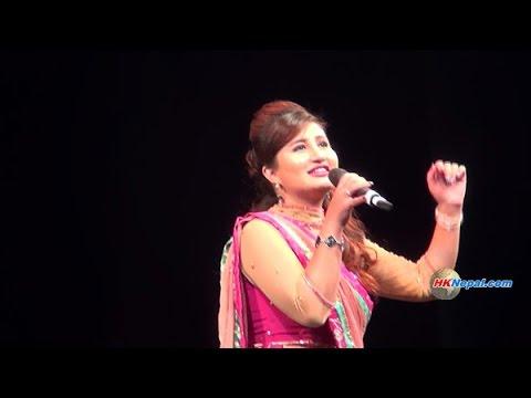 Anju Panta | Dashain Greetings | Sahara Sanjh - 2 | Hong Kong video