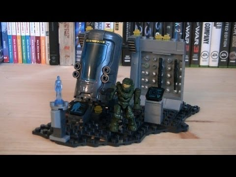 Halo Mega Bloks 97088 UNSC Cryo Bay Review
