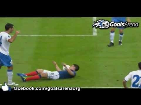 Samir Nasri envoie l'équipe de France à l'Euro 2012