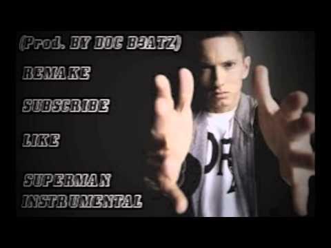Eminem - Superman Instrumental Remake - (prod. By D0c B3atz) Garageband '11 video