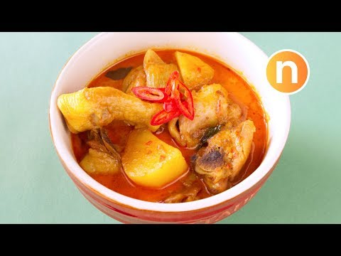Malaysian Curry Chicken | Kari Ayam [Nyonya Cooking]