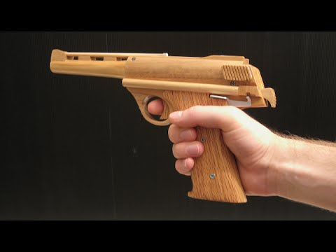 [rubber band gun] blowback Auto Mag