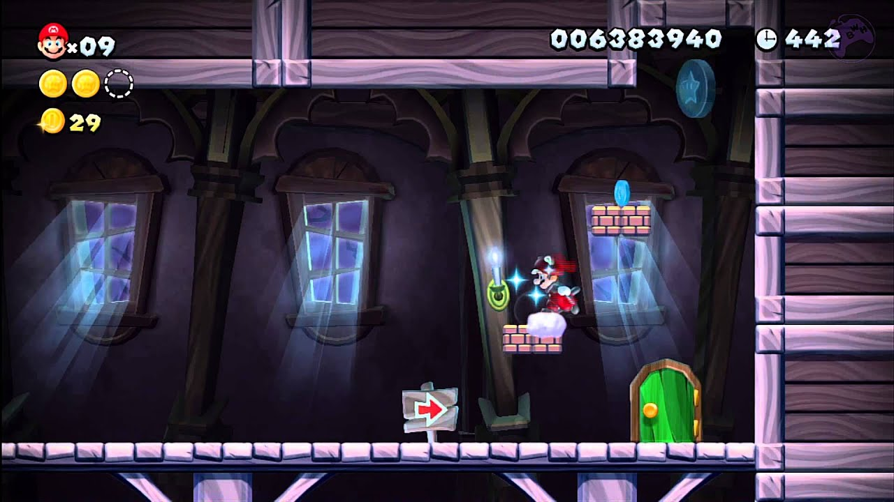 Super Mario Ghost House Ghost House New Super
